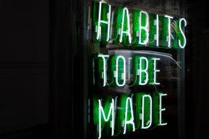 Anchoring good habits